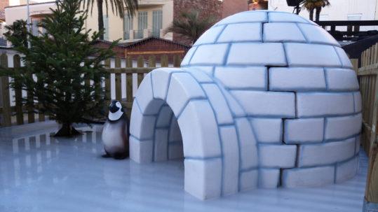 décor igloo