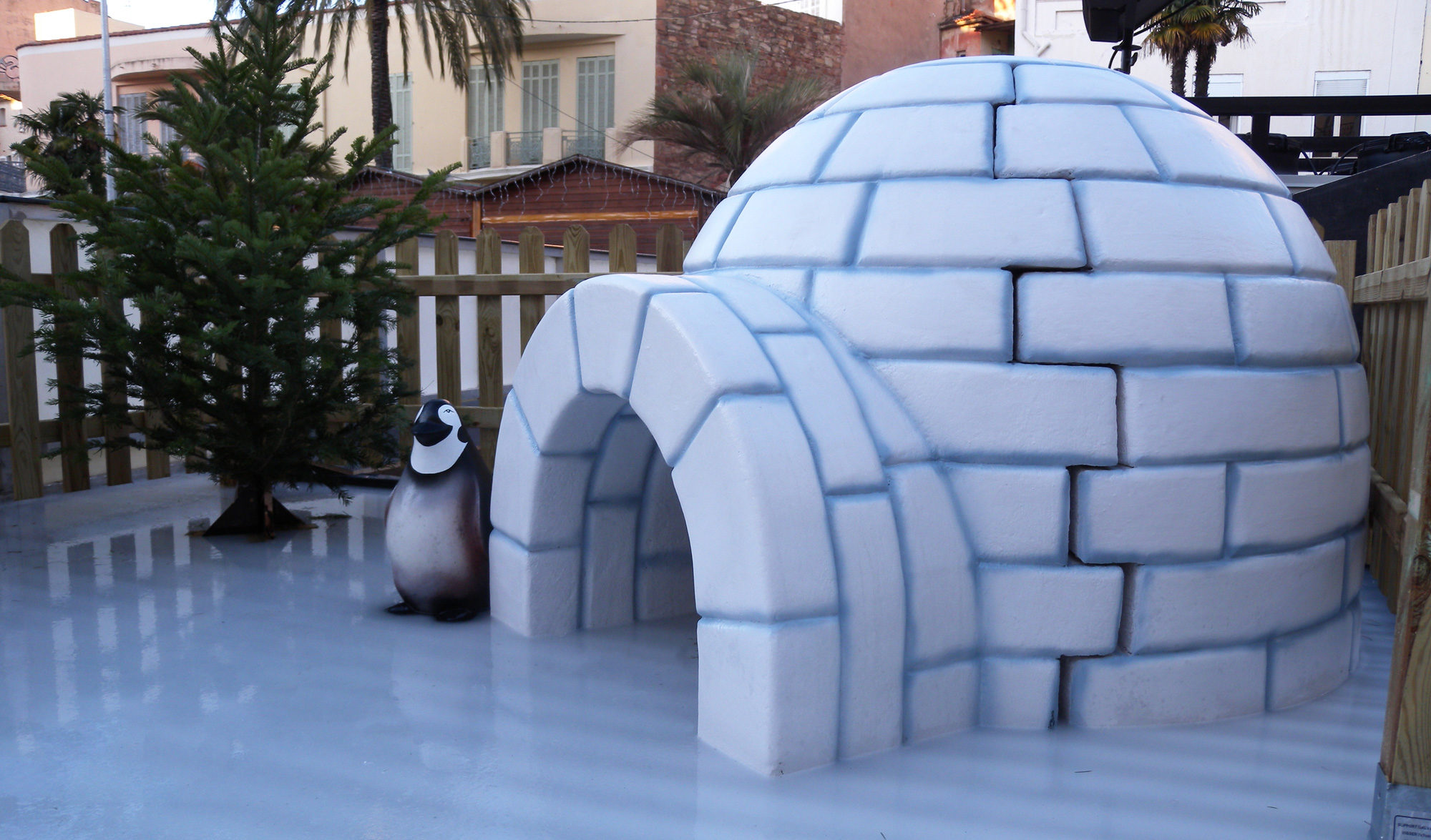 décor igloo