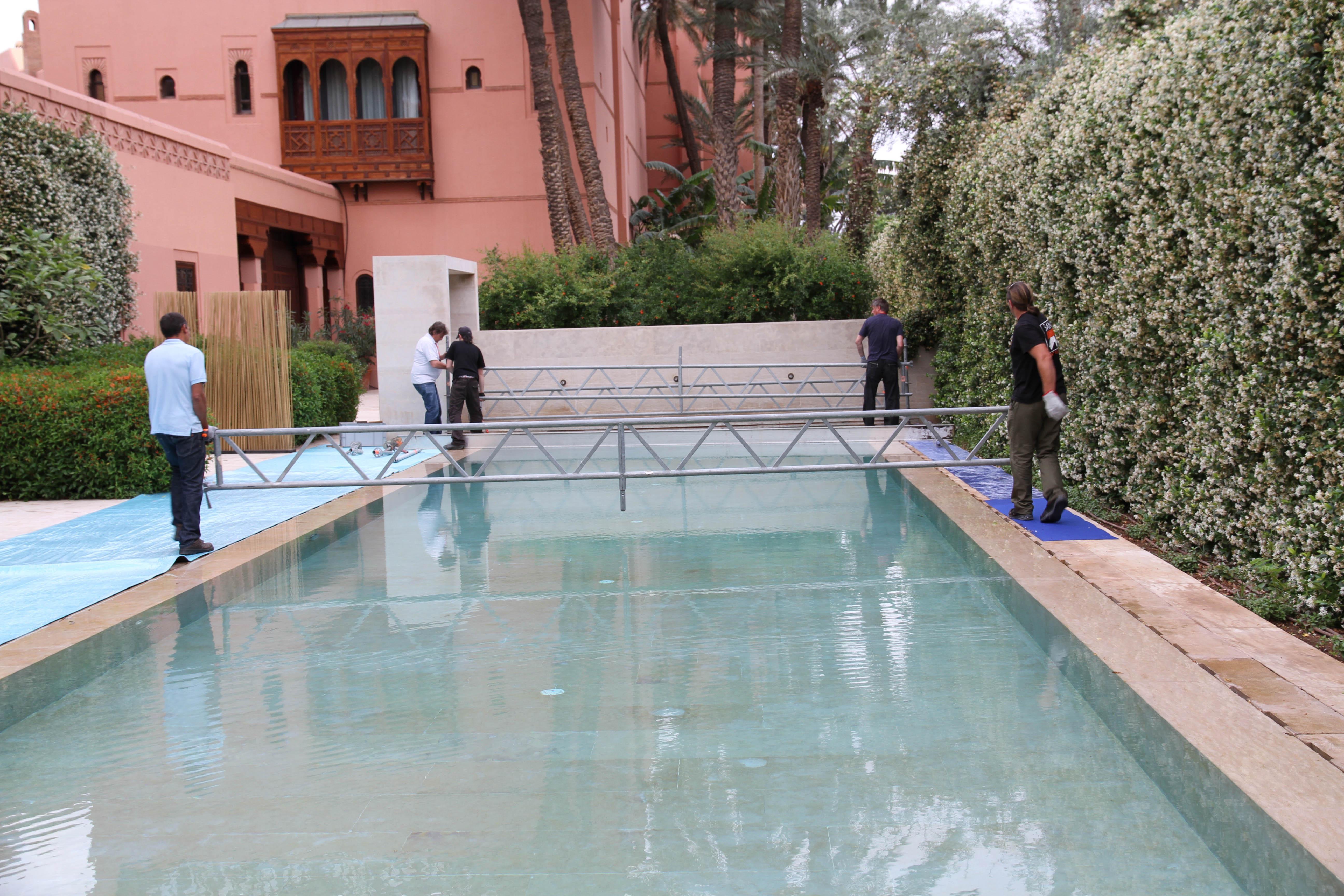 couverture de piscine sur Nice