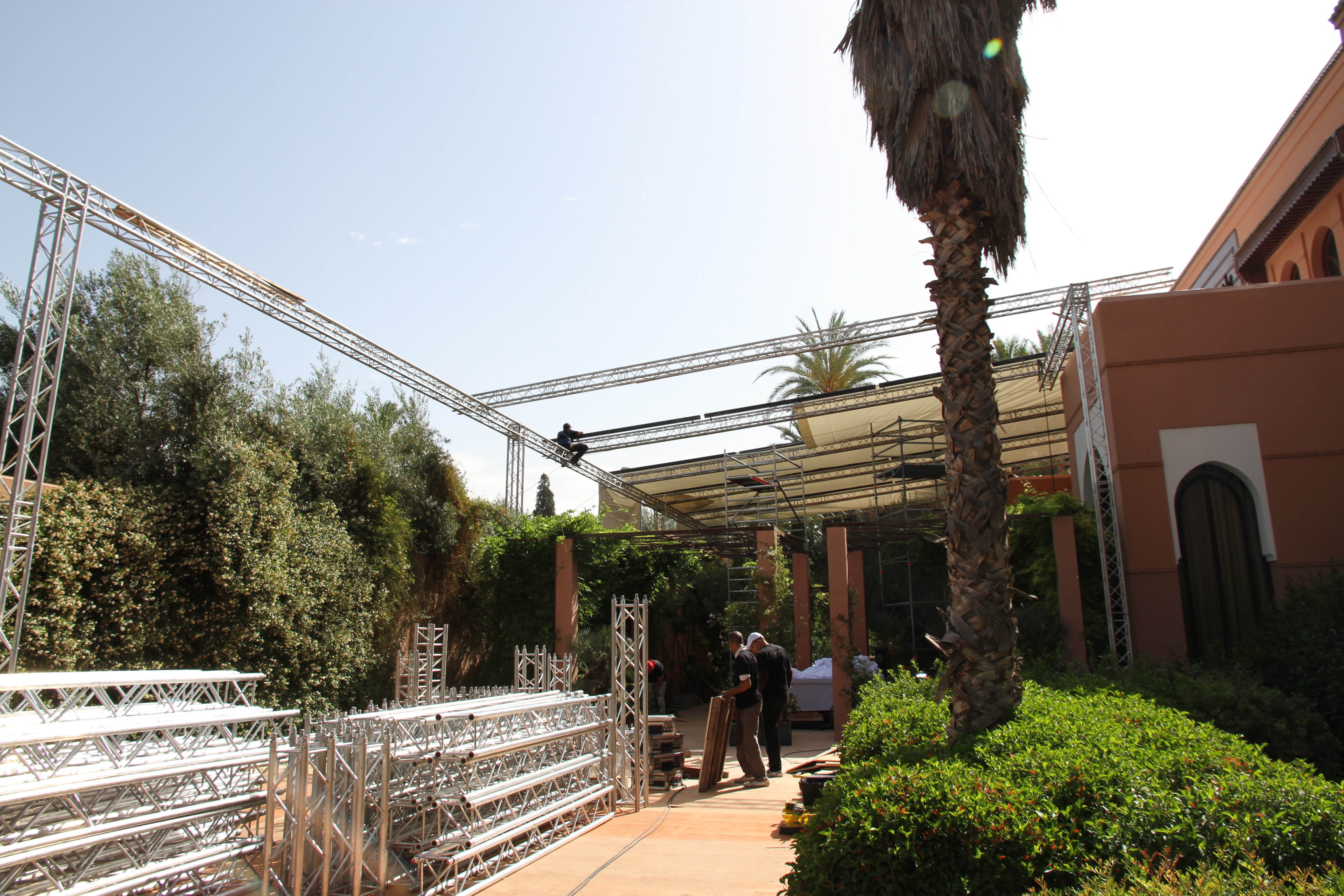 installation structure aubagne