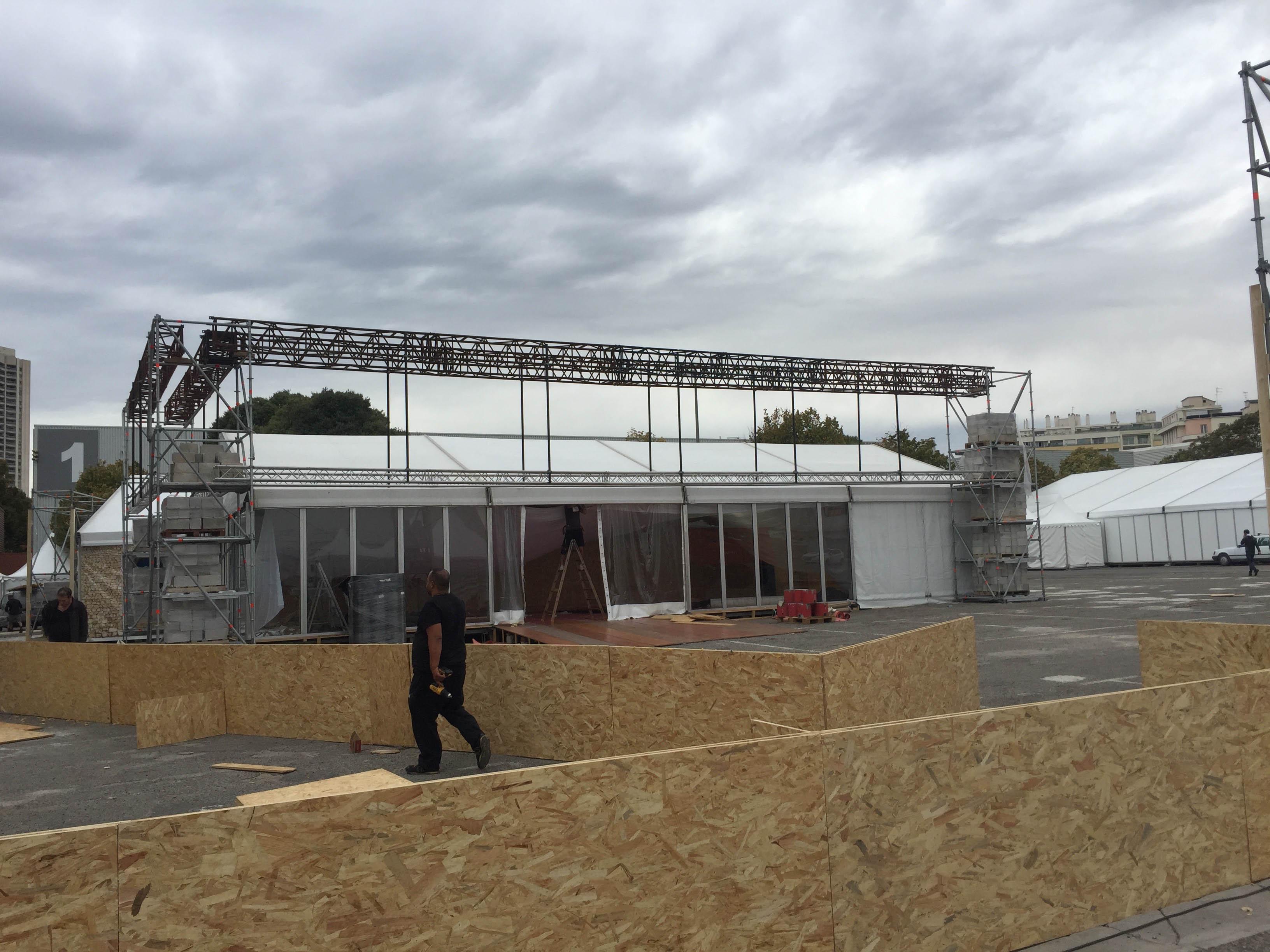 installation structure marseille