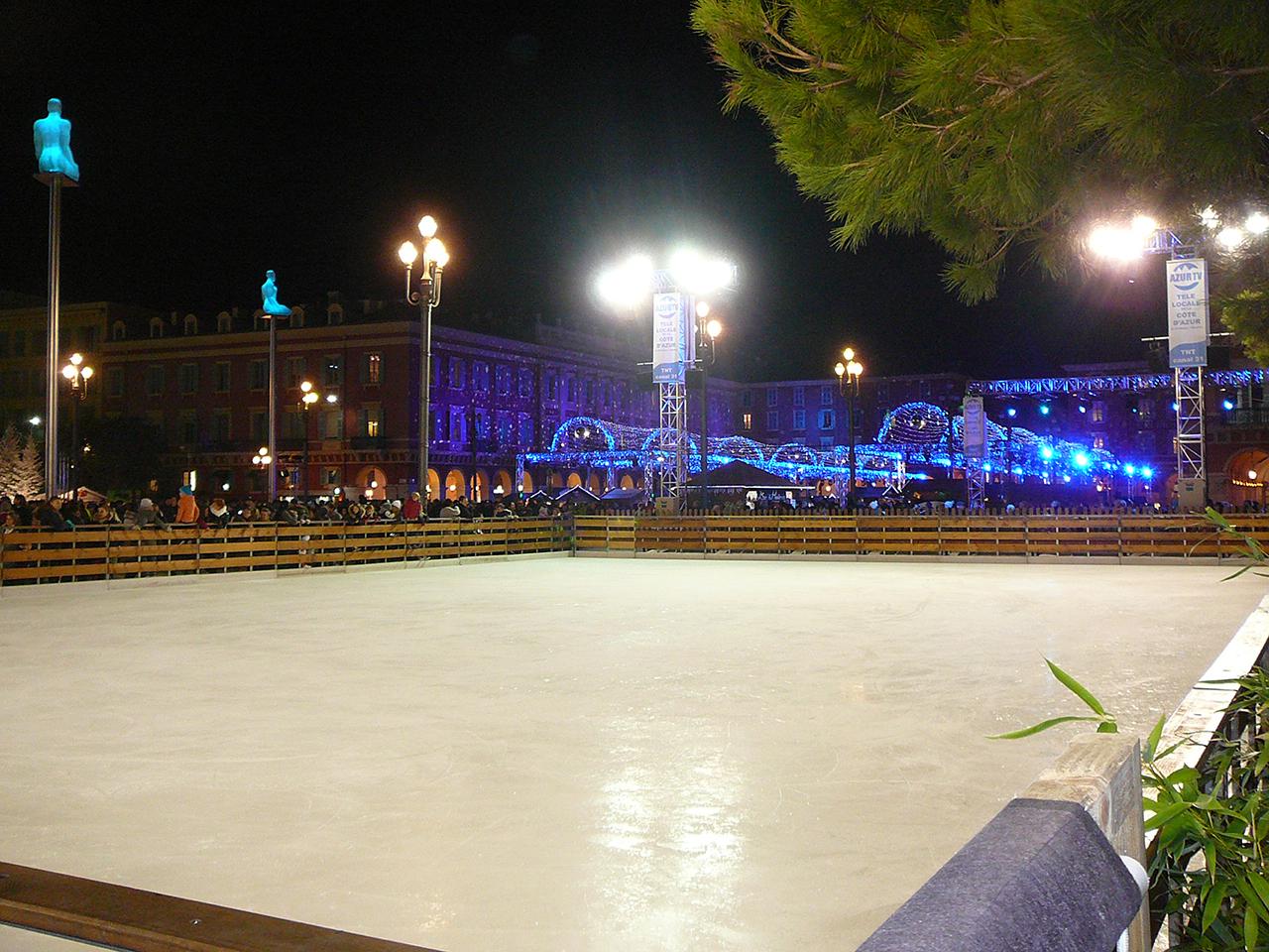 location piste glacée monaco